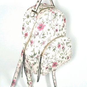 Blush Pink Floral Back Pack Purse Call it Spring